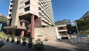 entrada hospital barcelona
